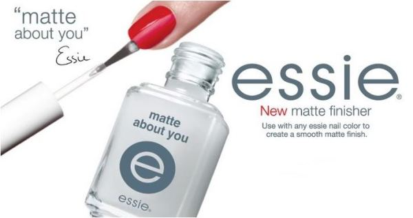 top coat 'Matte About You' Finisher - Essie