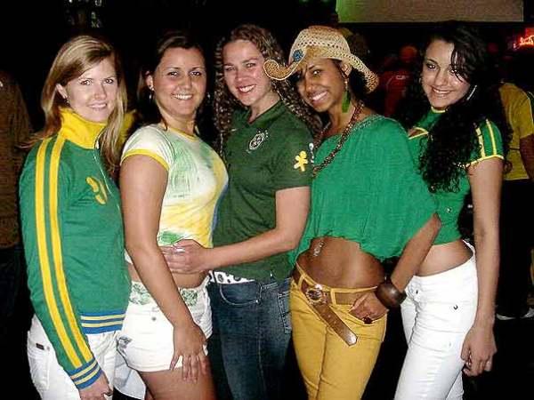 look verde e amarelo para torcer pela seleção