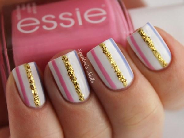 Nail Art delicada e estilosa