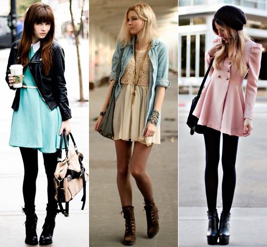 Dicas para usar vestidos de verão no inverno