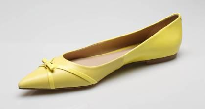 sapatilhas de bico fino