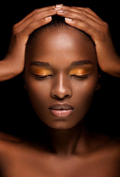 maquiagem para os olhos de negras