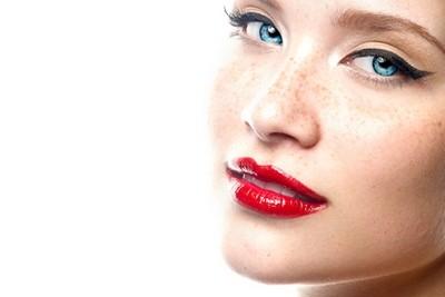 maquiagem para ruivas - boca