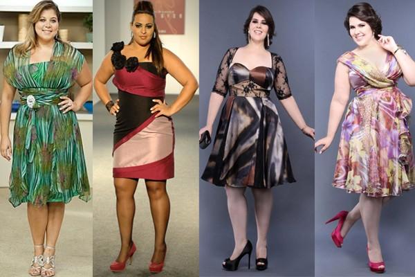 foto de vestidos para gordinhas