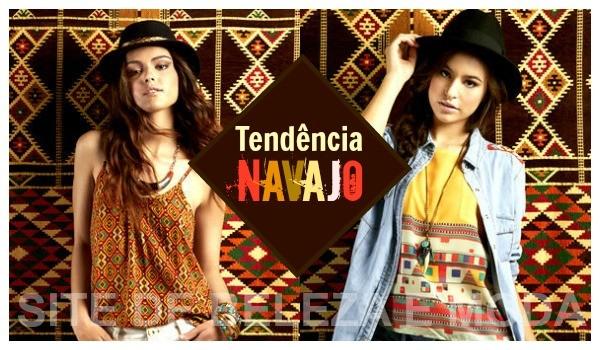 Tendência navajo para o verão 2015