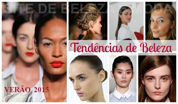 tendências de beleza