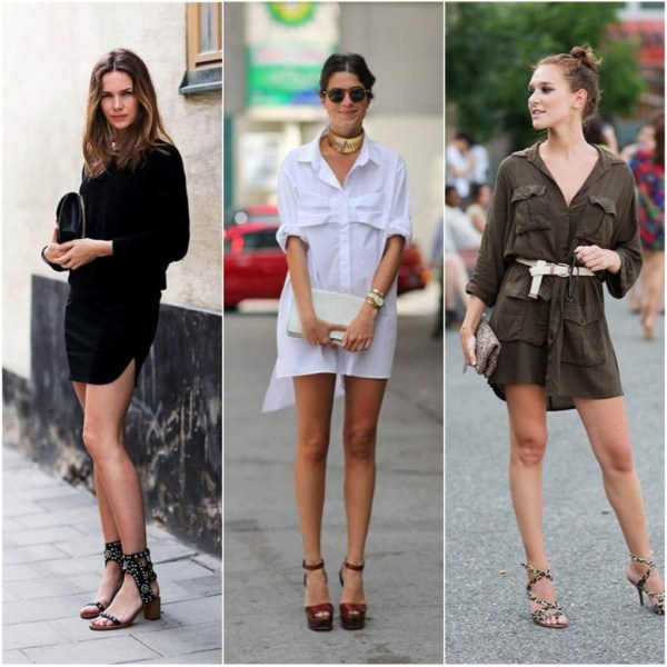 modelos de Shirtdress