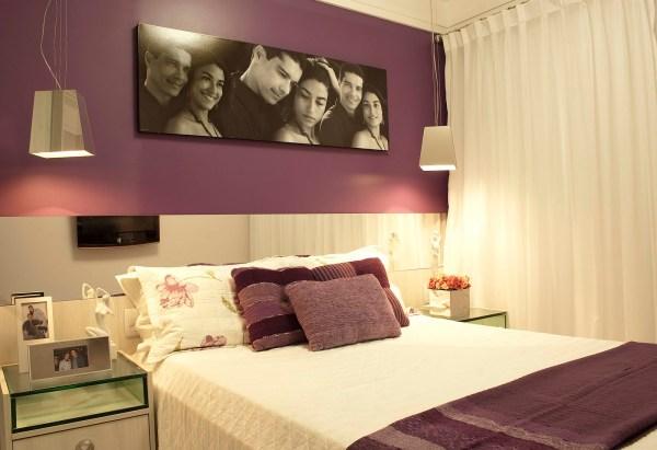 Foto de decoração para quarto de casal