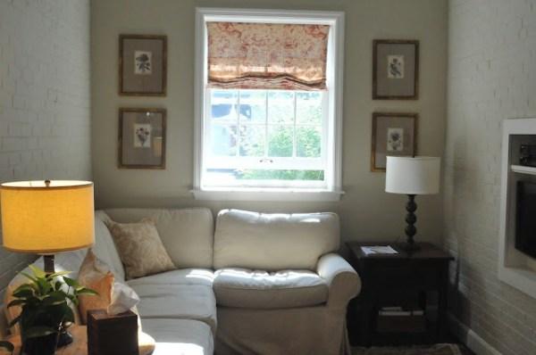 Foto de decoração de sala pequena