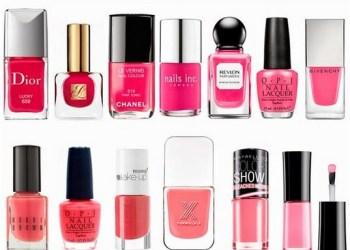 É primavera, se jogue nos esmaltes rosa