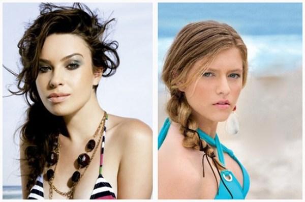 penteados para praia