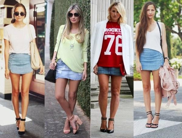 Como usar mini saia sem parecer vulgar