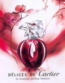 Délices de Cartier é um dos perfumes femininos para seduzir