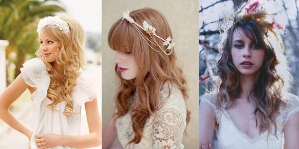 Penteados soltos são Tendências para Casamentos 2015