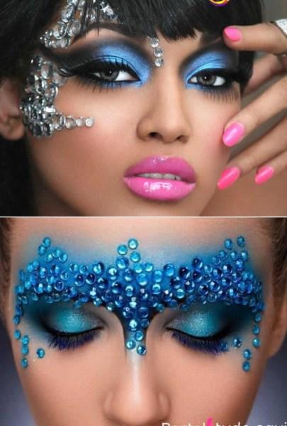 Maquiagem de carnaval para copiar
