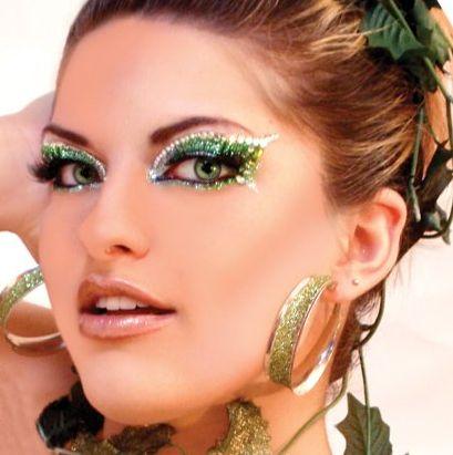 Maquiagem de carnaval bonita
