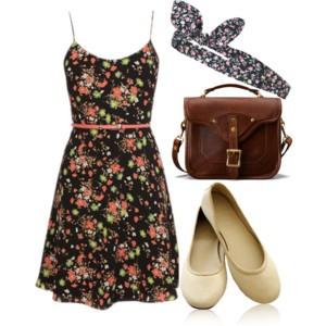 look criativo com roupas simples