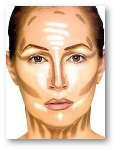 Erros de maquiagem que engordam o rosto