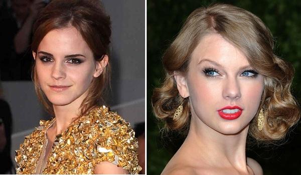 combinar a maquiagem com o vestido dourado