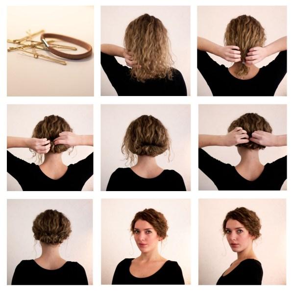 penteados bonitos e românticos