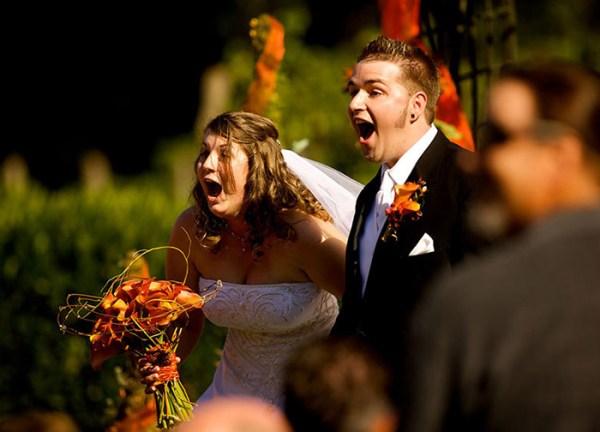 surpresa na festa de casamento