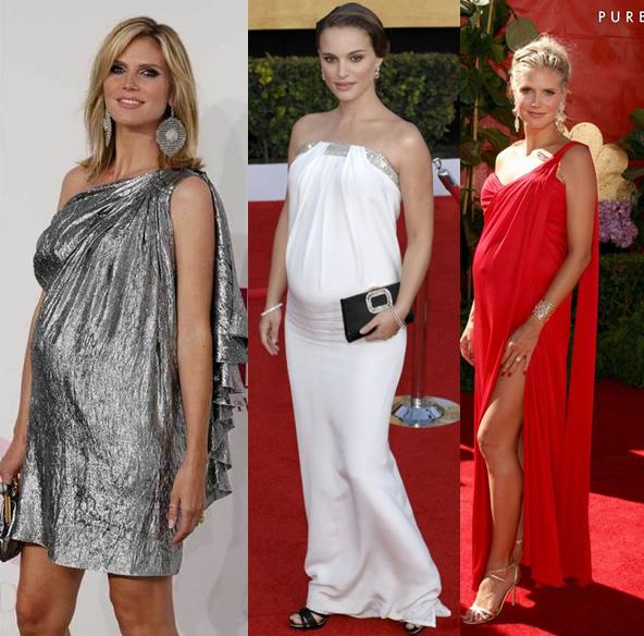 ideias de vestidos de festa para grávidas