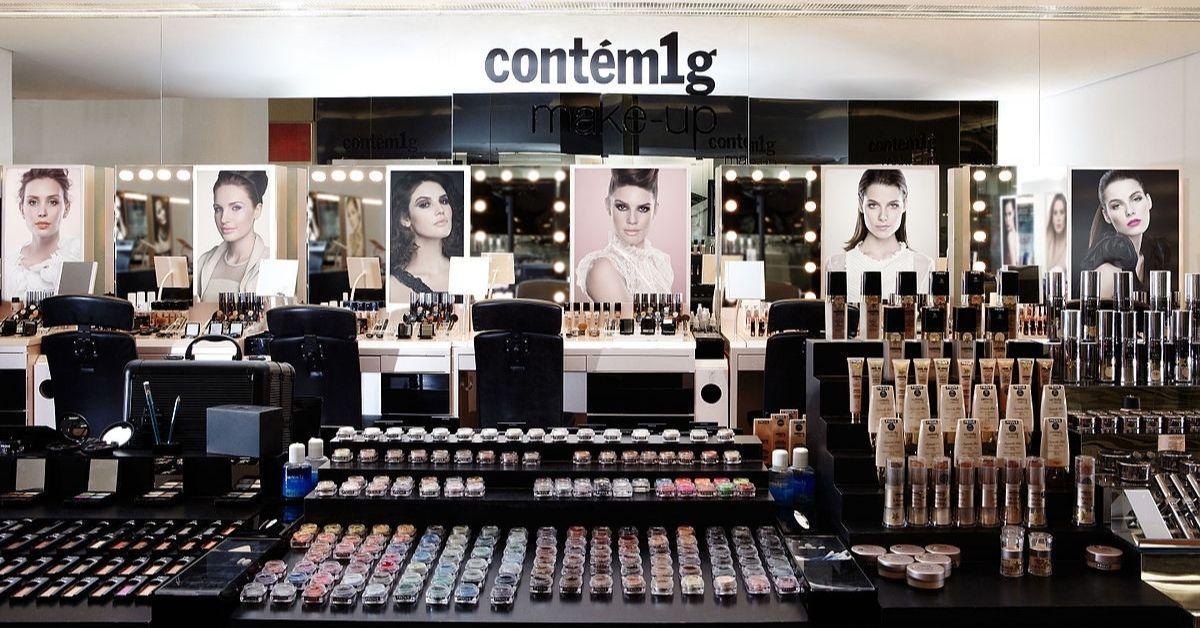 Contém 1g é uma das melhores marcas de maquiagem