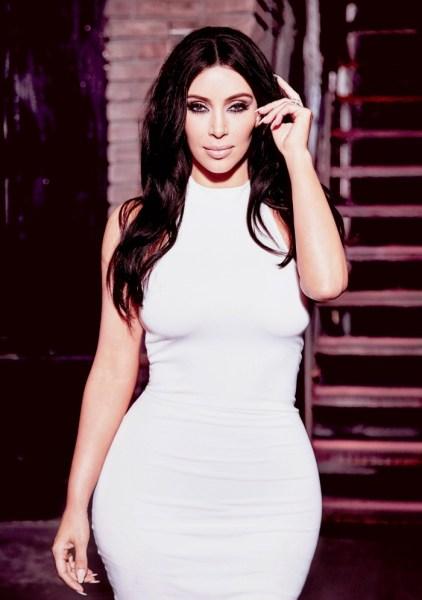 modelito de kim kardashian para CeA