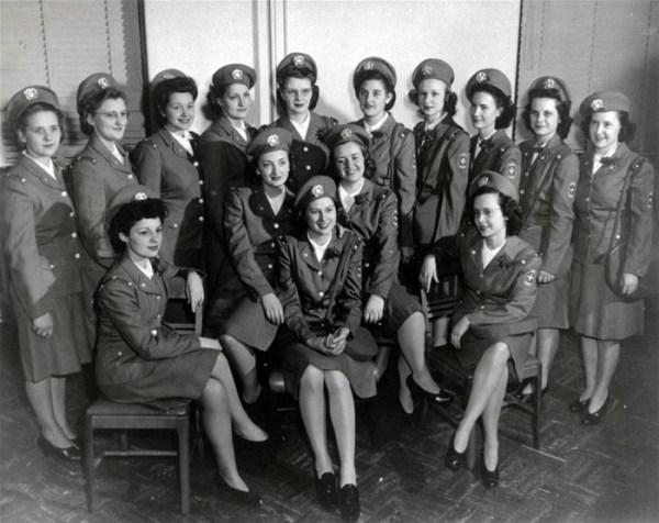 história do militarismo feminino