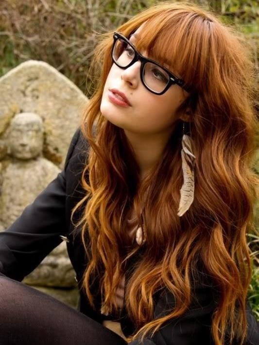 Ruivo acobreado é uma das tendências para cor nos cabelos