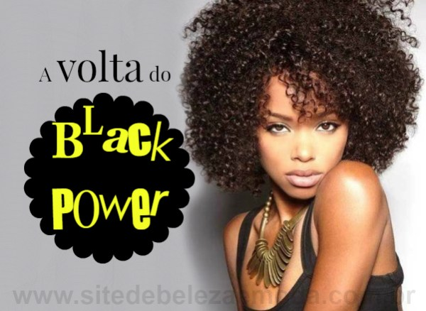cabelos crespos: A volta do Black Power