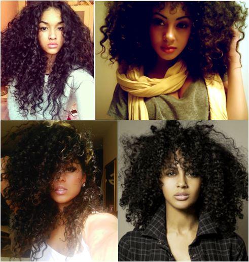 fotos de cabelos crespos estilo black power para se inspirar