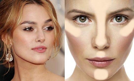 iluminador como Tendências de Maquiagem para o inverno 2015