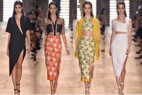 Saias Midi da Moda Primavera/verão 2016
