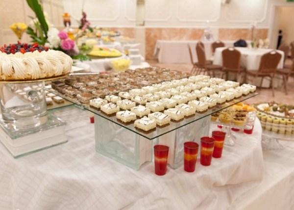 decoração elegante de casamento