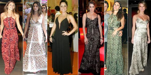 Mulheres Baixinhas Usando Vestido Longo