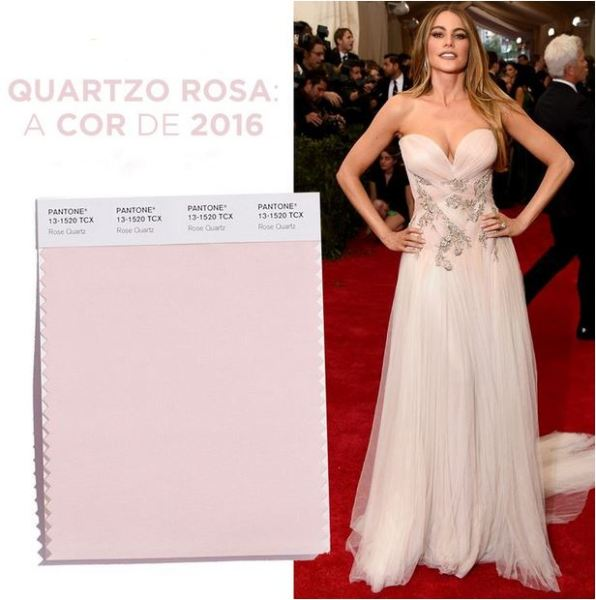 Rose Quartz a Cor do verão 2016