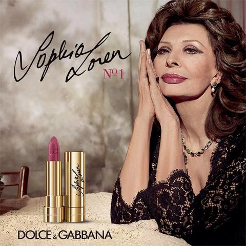 Sophia Loren é a musa da vez da Dolce & Gabbana