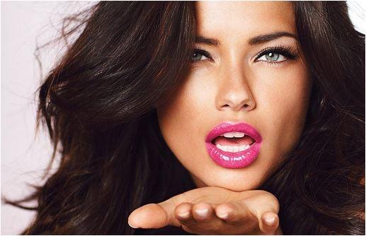 Lábios mais brilhantes