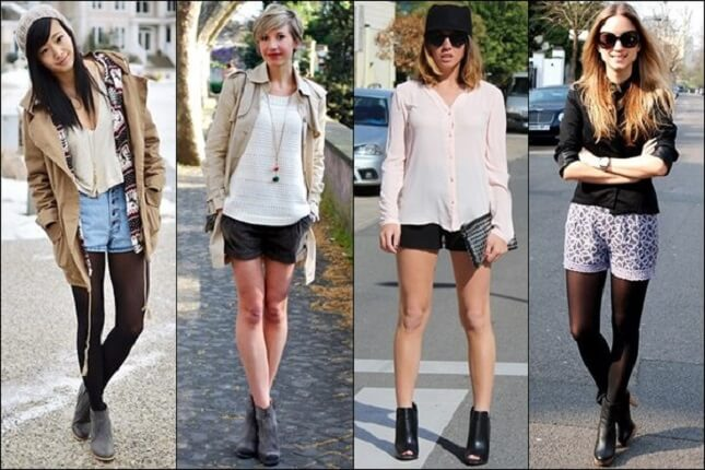 look com ankle boots