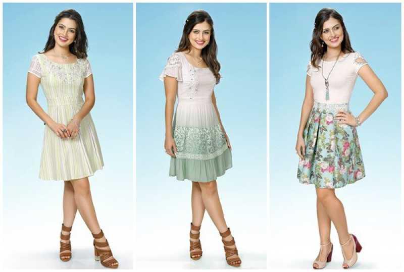 Look com vestidos da moda evangélica 2016