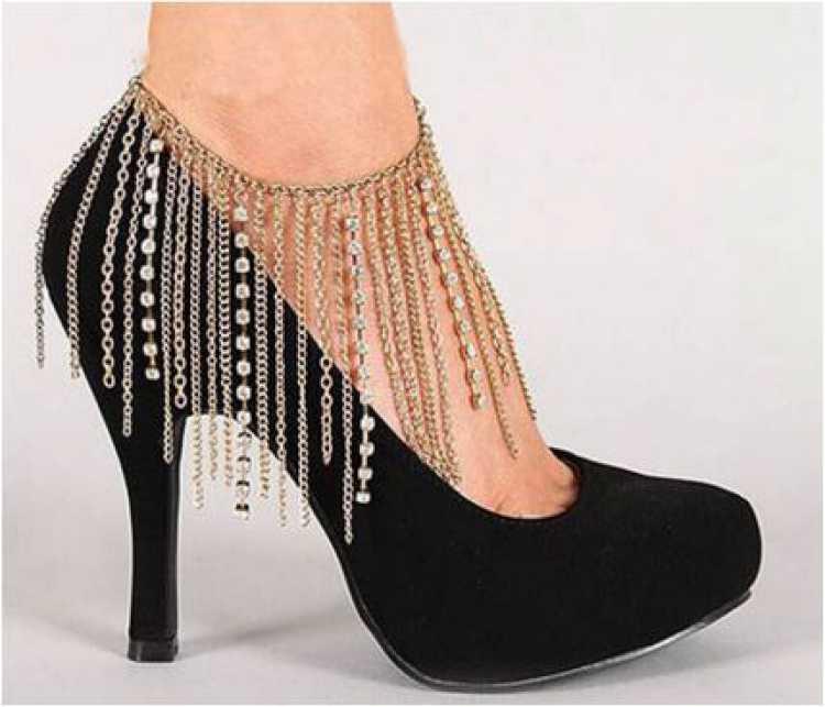 Jóias nos pés
