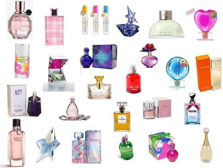 Conhecendo os tipos de fragrâncias