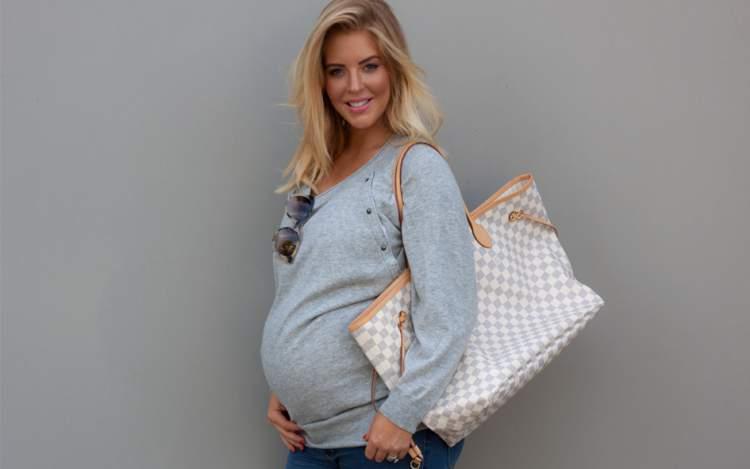 grávida com estilo