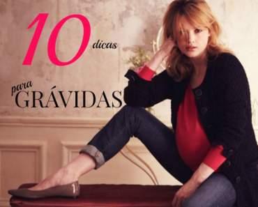 10 dicas para uma gravidez Fashion 1
