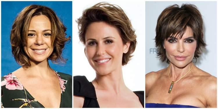 mulheres de 40 anos com cabelos curtos