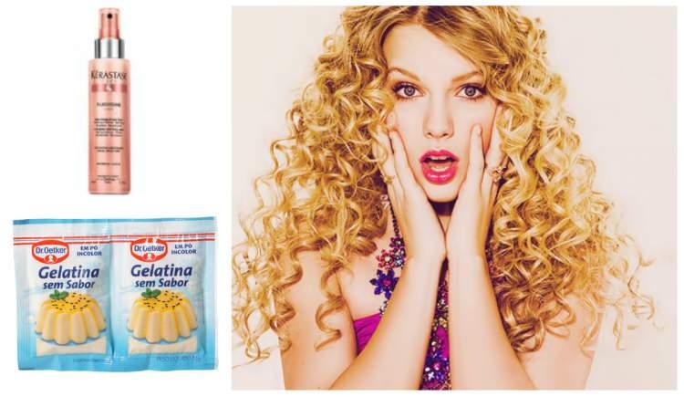 receita caseira para cabelos crespos e cacheados com gelatina sem sabor e leave in