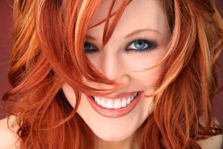 cabelo ruivo laranja