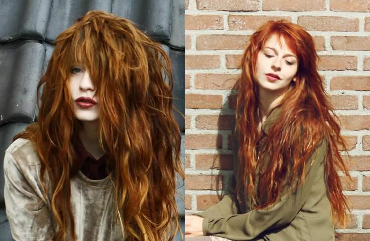 ruivos laranja é uma das tendências em cores para cabelo em 2017