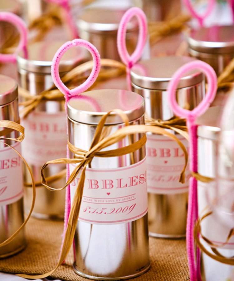bolhas de sabão como lembrancinha de casamento